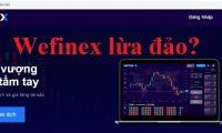 Wefinex là gì? Wefinex có lừa đảo đa cấp không?
