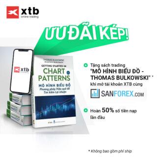 Chương trình tri ân tặng sách Mô hình Biểu đồ và nhận ưu đãi kép từ XTB