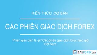 Các phiên giao dịch forex theo giờ Việt Nam